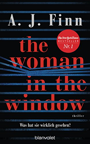 The Woman in the Window by A. J. Finn (a pseudonym of Dan Mallory)